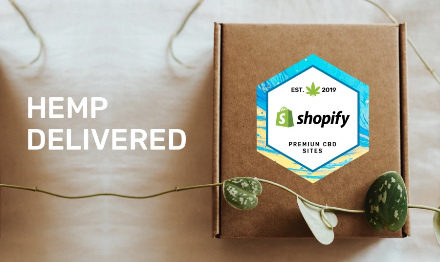 CBD and Hemp-based products Delivered by Shopify